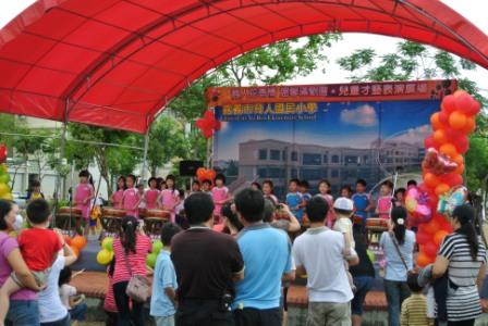 嘉義市育人國小舉辦文藝芳鄰系列活動  社區民眾共襄盛舉