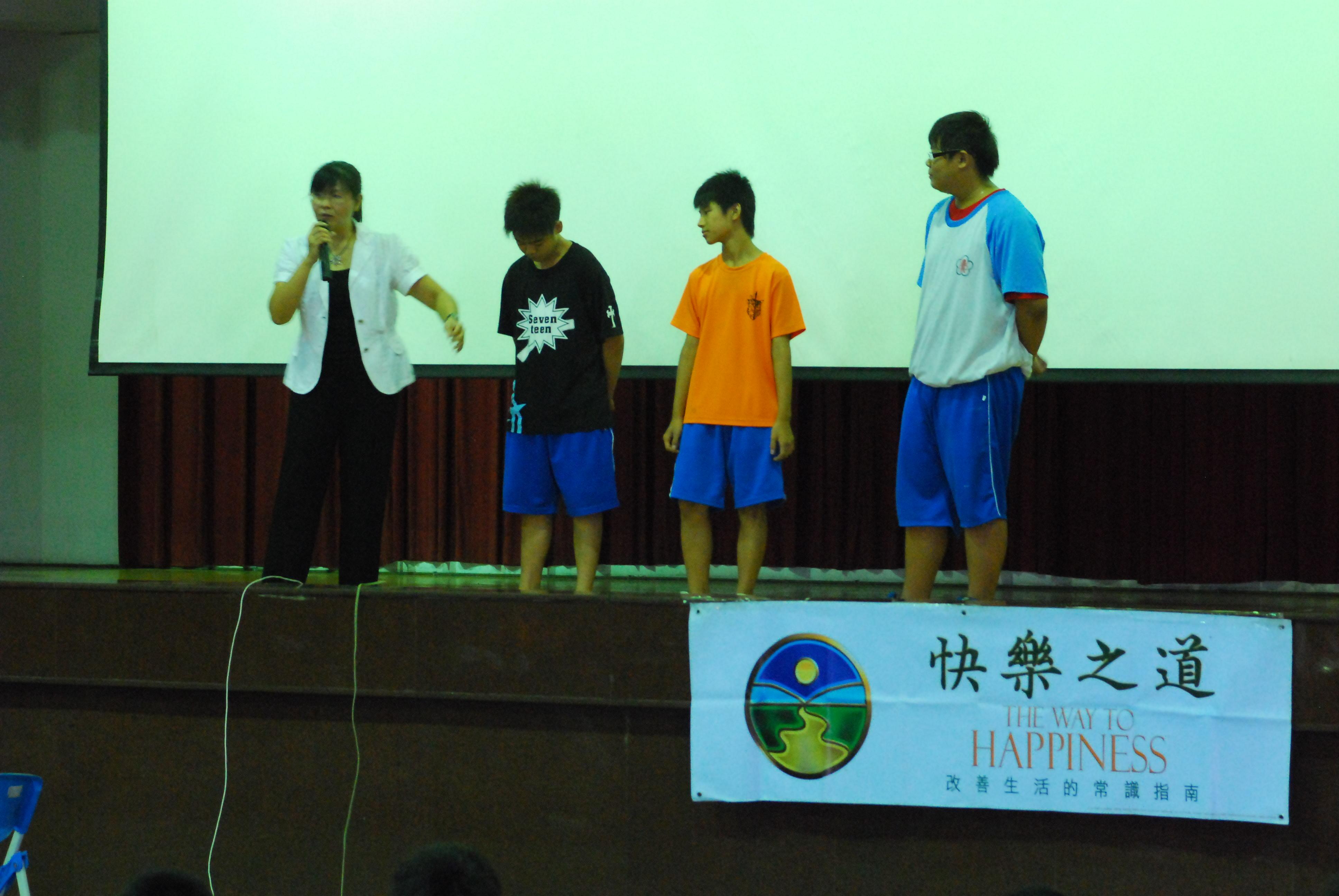 品德融合人權新穎宣導 為學生導入負責觀念