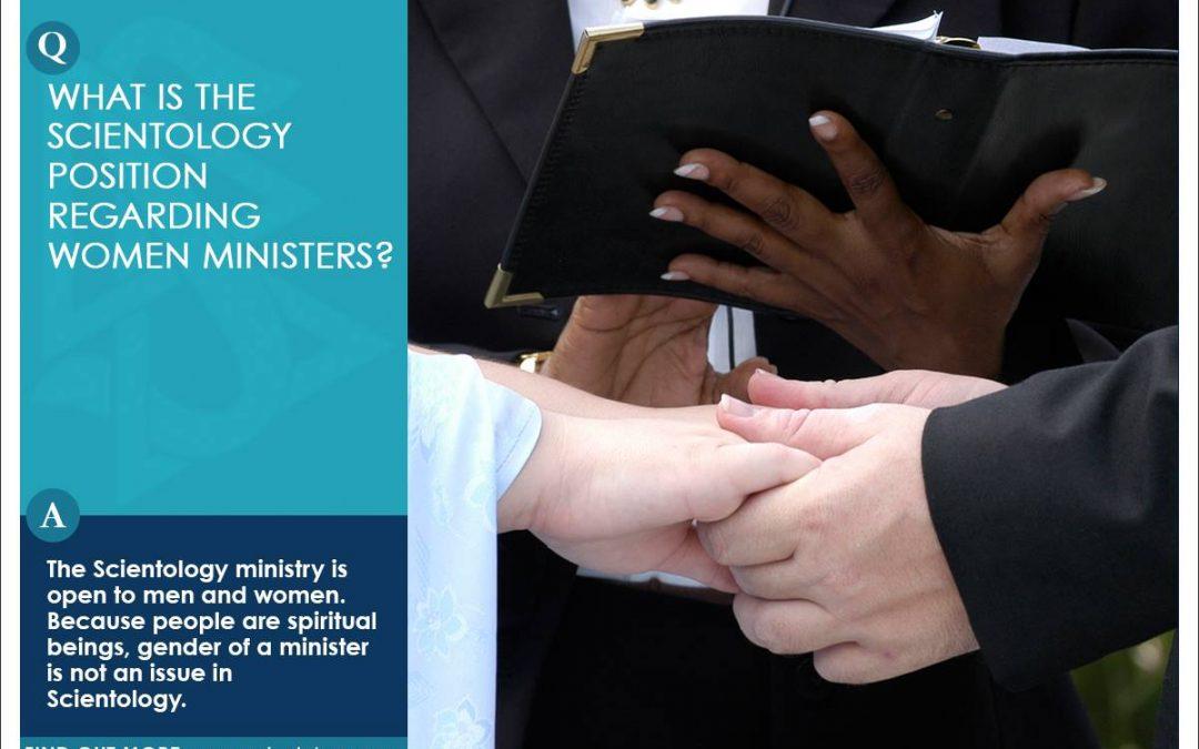 山達基對女牧師的看法是什麼呢?
