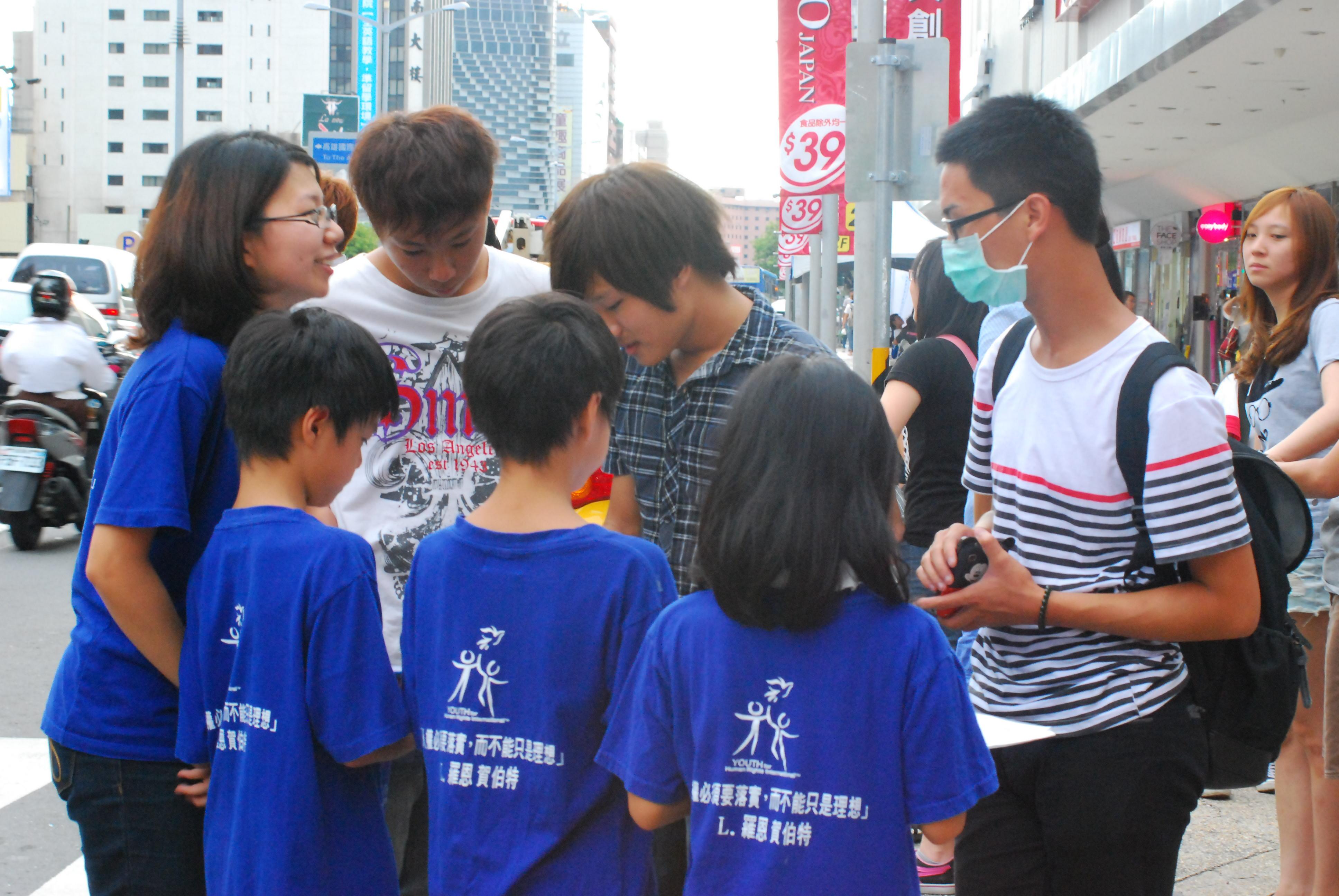 小3小4反霸凌 暑期街頭當志工