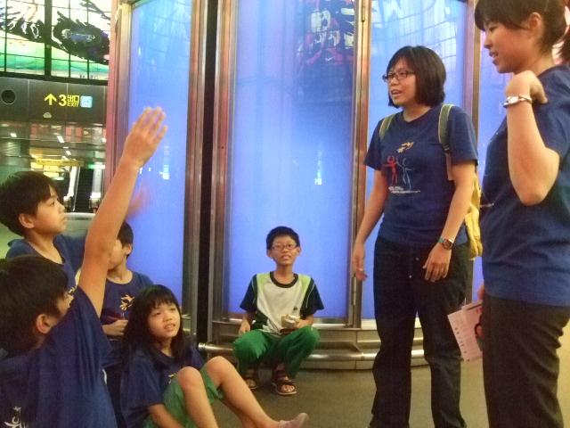 高雄捷運人權之旅  建立學童平等對待的觀念