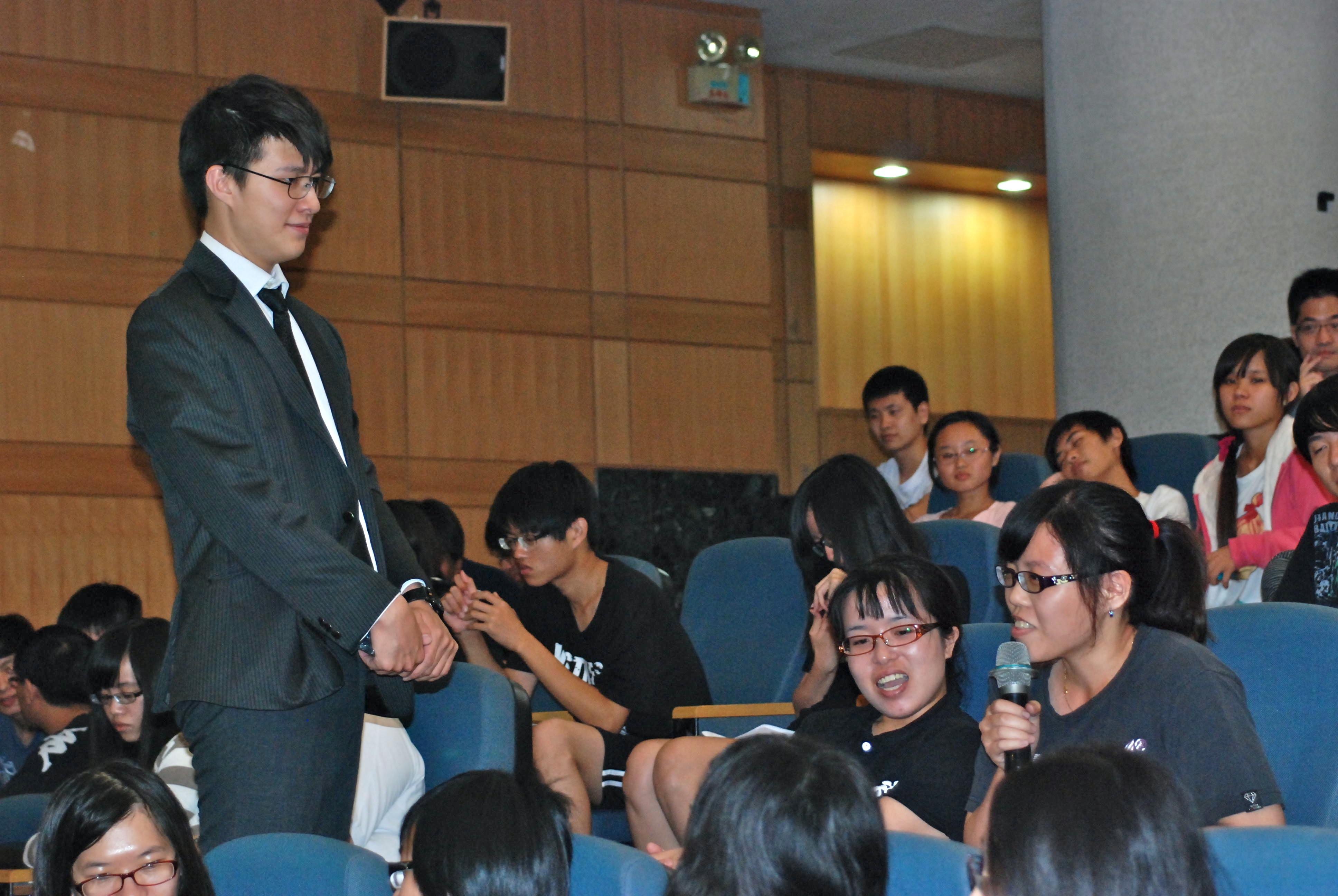人權宣導感動人心  引燃大學生落實人權的勇氣