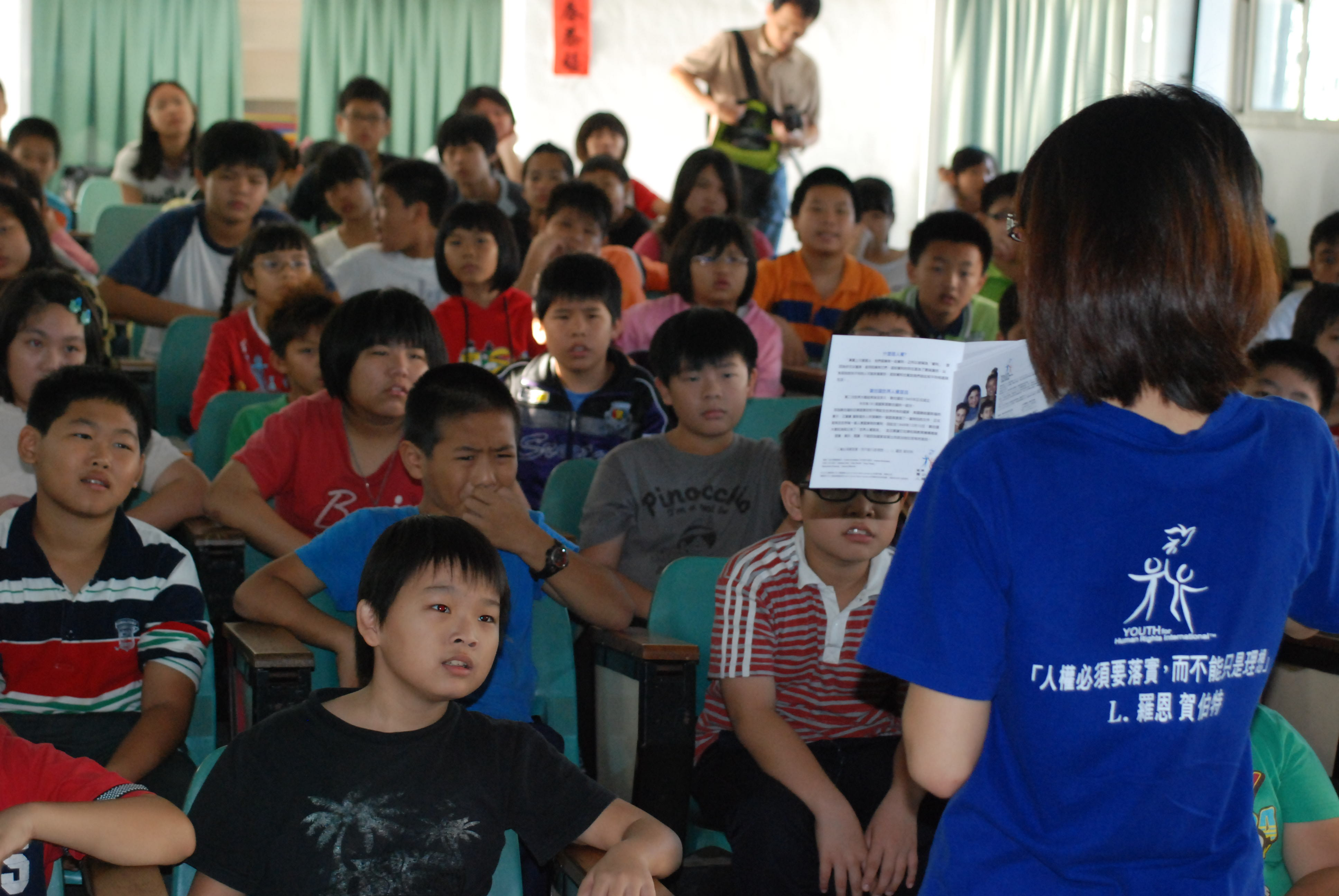 山達基教會深耕人權教育  營造友善校園