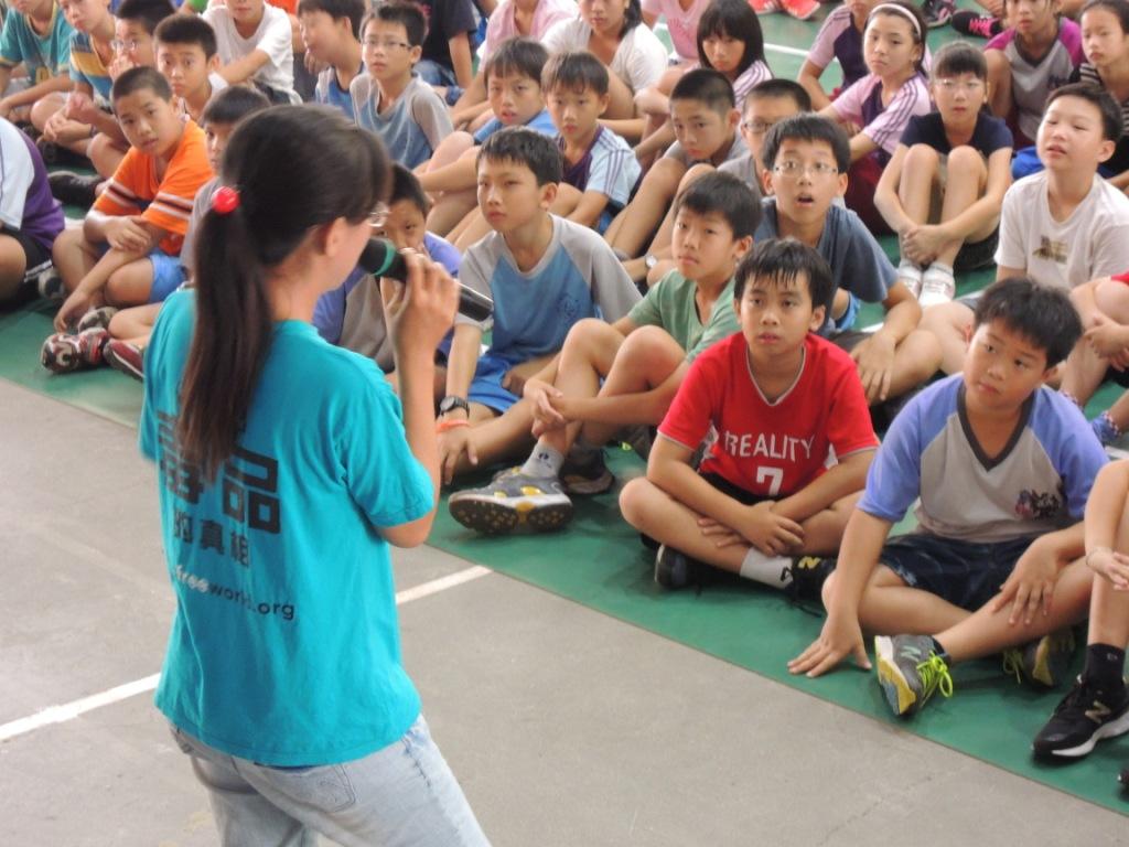 反毒講座師生喜愛  學童自主決定遠離毒品